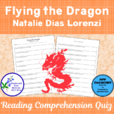 Flying the Dragon A Bluebonnet Award Nominee Comprehension Quiz