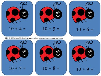 Math addition game * Flying through 9's and 10's * Adding 9's and 10's