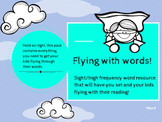 Flying with words!