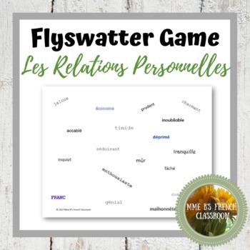 D'accord 3 Leçon 1: Flyswatter Game vocabulary (adjectives)