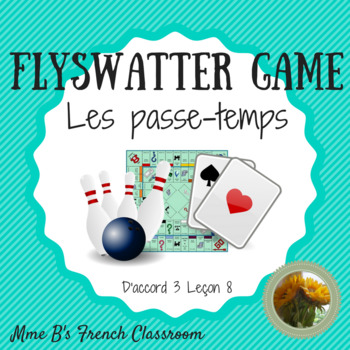 Flyswatter Game: D'accord 3 Leçon 8 vocabulary