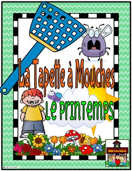 Flyswatter Game-La Tapette à Mouches-SPRING-French FSL or French Immersion