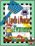 Flyswatter Game-La Tapette à Mouches-SPRING-French FSL or