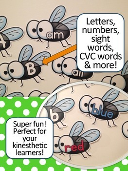 Back to School Activities - Flyswatter High Frequency Words Game {Sight Words}