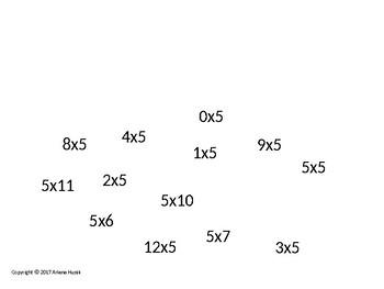 Flyswatter Math: Multiplication