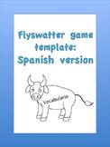 Spanish flyswatter printable template