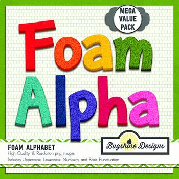 Foam Alphabet Value Pack {Colors}