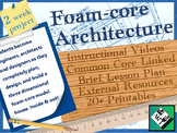 Foam Board Architecture Project Lesson for Middle and High School