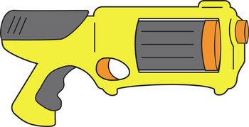 foam dart gun clip art by rachel sipper teachers pay teachers rh teacherspayteachers com clip art gun shooting clip art guns revolvers