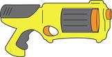 Foam Dart Gun Clip Art