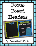 Focus Board Banners