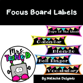 Focus Board Labels