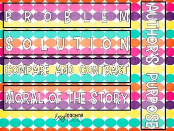 Focus Board Labels {Editable and Brights}