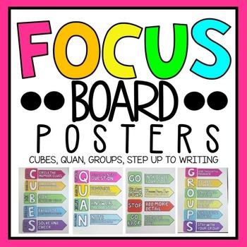 Focus Board Posters