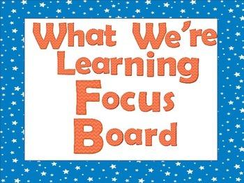 Focus Board Stars