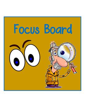 Focus Board for Kinder