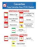 Focus Correction Area Checker for John Collins Writing