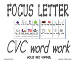 Focus Letter CVC Word Work