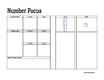 Focus Number DVD Case Cover