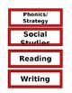Focus/ Objective Board Set Up (Editable)