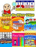 Focus on Place Value (Games, Activities, Graphic Organizers & Posters)