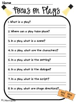 Focus On Plays