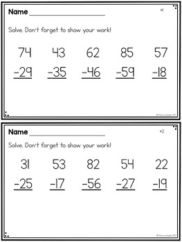 Focus On: Subtraction with Regrouping