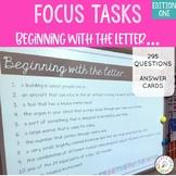 Focus Tasks Letter Detective 1