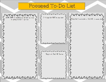 Focused To-Do List