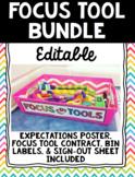 Focus Tool/Fidget Management Set - EDITABLE