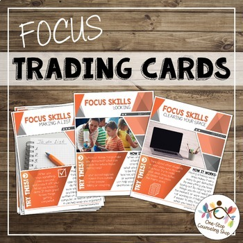 Attention and Focus Trading Cards