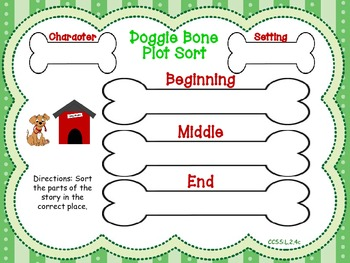 Character, Setting, Main Idea, Details, and Prediction Centers