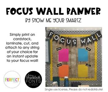 Focus Wall Banner