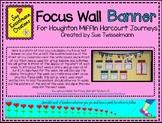 Focus Wall Banner & Headings for Houghton Mifflin Harcourt