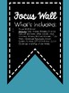 Focus Wall Banner and Topic Headers