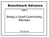 Focus Wall Benchmark 1st. Grade