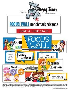 Focus Wall Bundle Benchmark Advance Grade 3