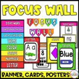 Focus Wall Bundle (Preschool, Pre-K, and Kindergarten)