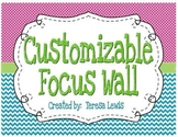 Focus Wall Customizable Bright Colors