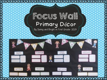 Editable Focus Wall to Display Standards
