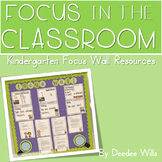 Focus Wall: Focus in the Classroom-Editable
