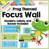 Focus Wall Headers: Frogs