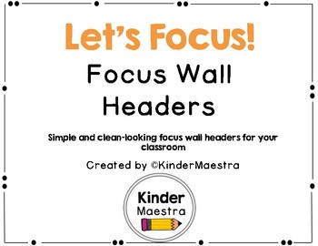 Focus Wall Headers