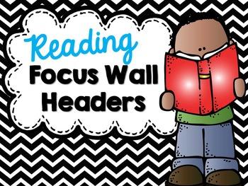 Focus Wall Headers - Black Chevron