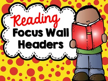 Focus Wall Headers (Polka Dot Theme 2)