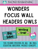 Focus Wall Headers (Wonders)