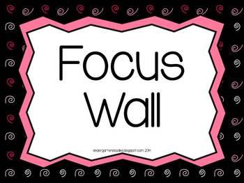 Focus Wall Headers freebie