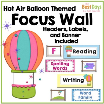 Focus Wall: Hot Air Balloons