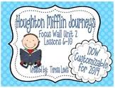 Focus Wall:  Houghton Mifflin Journeys Unit 2 Lessons 6-10 Grade 3