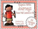 Focus Wall:  Houghton Mifflin Journeys Unit 2 Lessons 6-10 Grade 3 Chevron